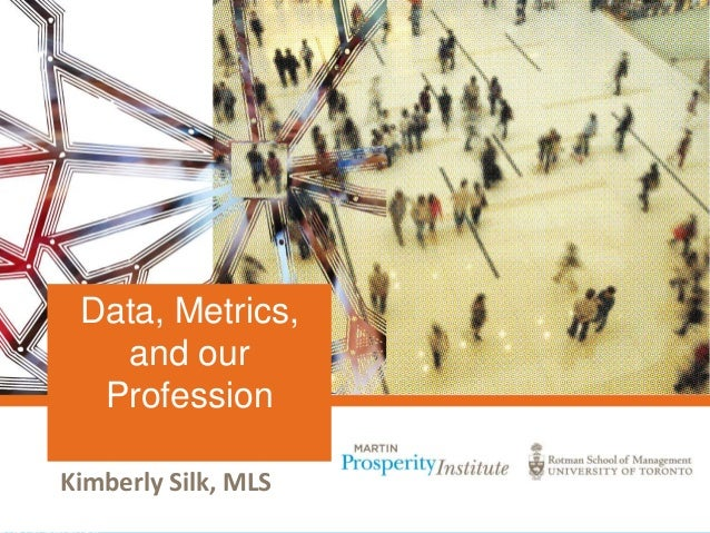 Kimberly Silk, MLS Data, Metrics, and our Profession