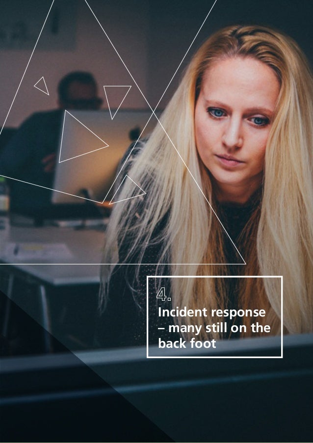 20 Incident response – many still on the back foot
