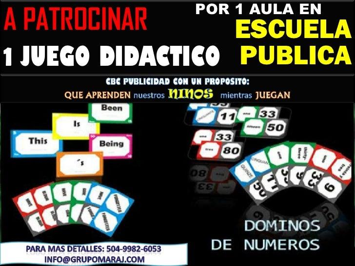 POR 1 AULA ENA PATROCINAR      ESCUELA1 JUEGO DIDACTICO PUBLICA