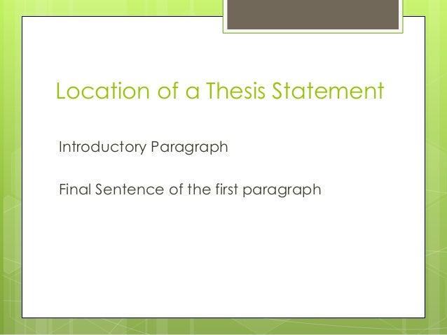 Decline thesis debate