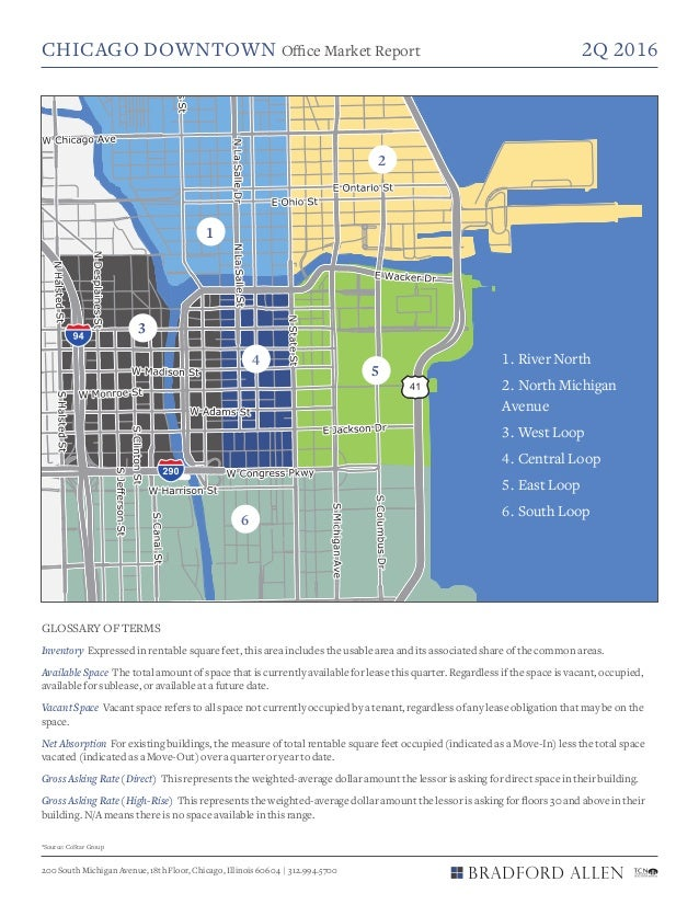 CHICAGO DOWNTOWN Office Market Report 2Q 2016 200 South Michigan Avenue, 18th Floor, Chicago, Illinois 60604   312.994.57...