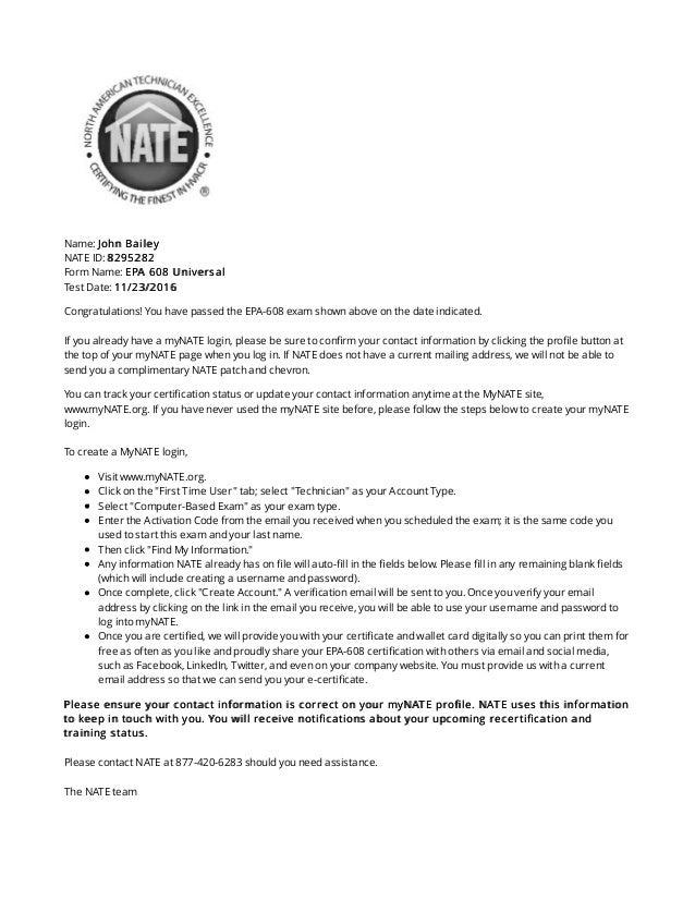 Epa 608 Certification