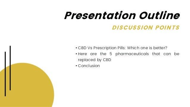 CBD vs. Prescription Pills: 5 Pharmaceuticals that CBD Can Replace  Slide 2