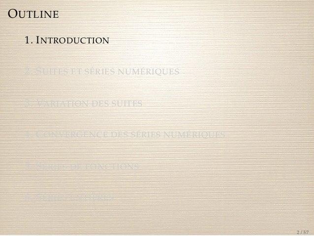 Introduction à la transformée en z et convolution discrète ...