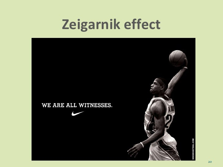 zeigarnik effect The study was supported by a faculty research grant from the university of mississippi to the first author requests for reprints should be sent to kenneth o mcgraw, department of psychology, university of mississippi, university, ms 38677 .