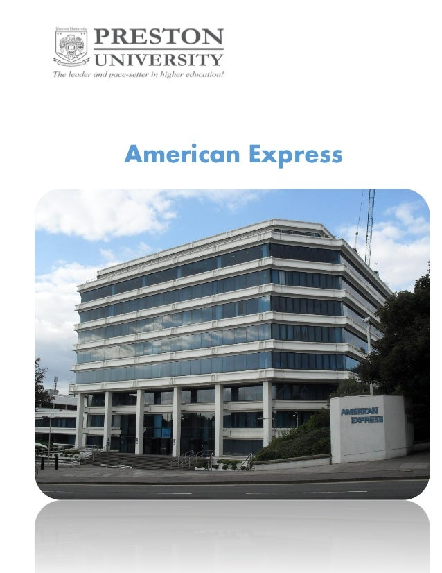 American express business analysis