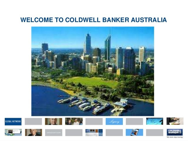 WELCOME TO COLDWELL BANKER AUSTRALIA