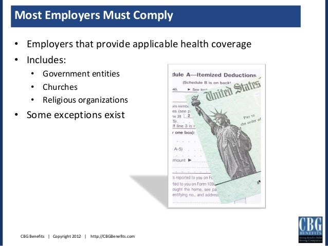 W2 Reporting Requirements Under Health Care Reform