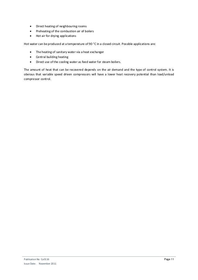 Publication No Cu0116 Issue Date: November 2011 Page 11  Direct heating of neighbouring rooms  Preheating of the combust...