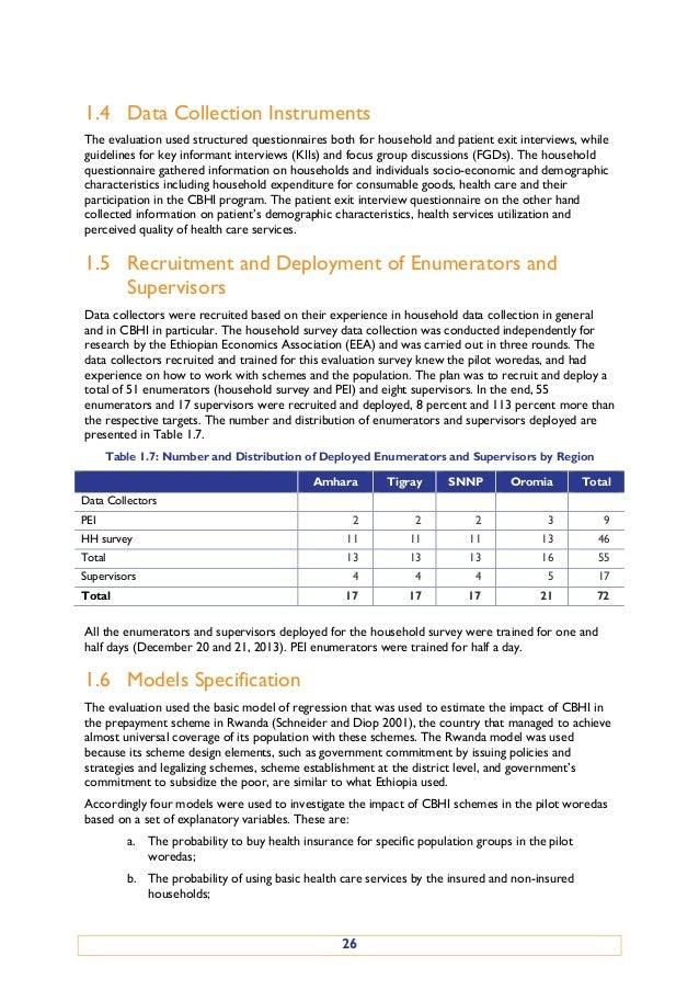 Evaluation of Community-Based Health Insurance Pilot Schemes