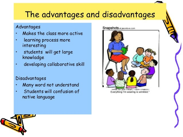 content based instruction advantages and disadvantages