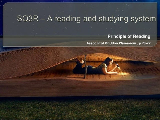 Principle of Reading Assoc.Prof.Dr.Udon Wan-a-rom , p.76-77