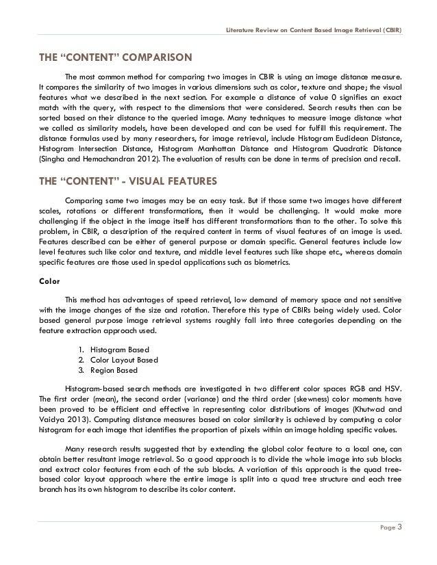 Literature Review APA Formatting