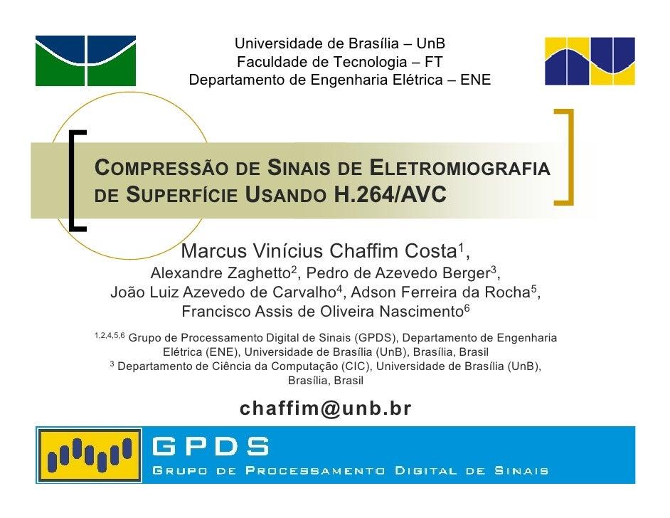 Universidade de Brasília – UnB                       Faculdade de Tecnologia – FT                 Departamento de Engenhar...