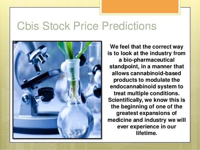 CBIS stock price predictions