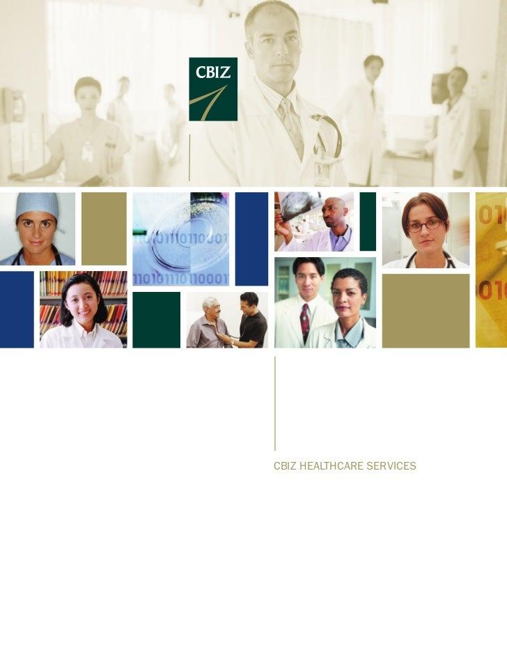 CBIZ HEALTHCARE SERVICES