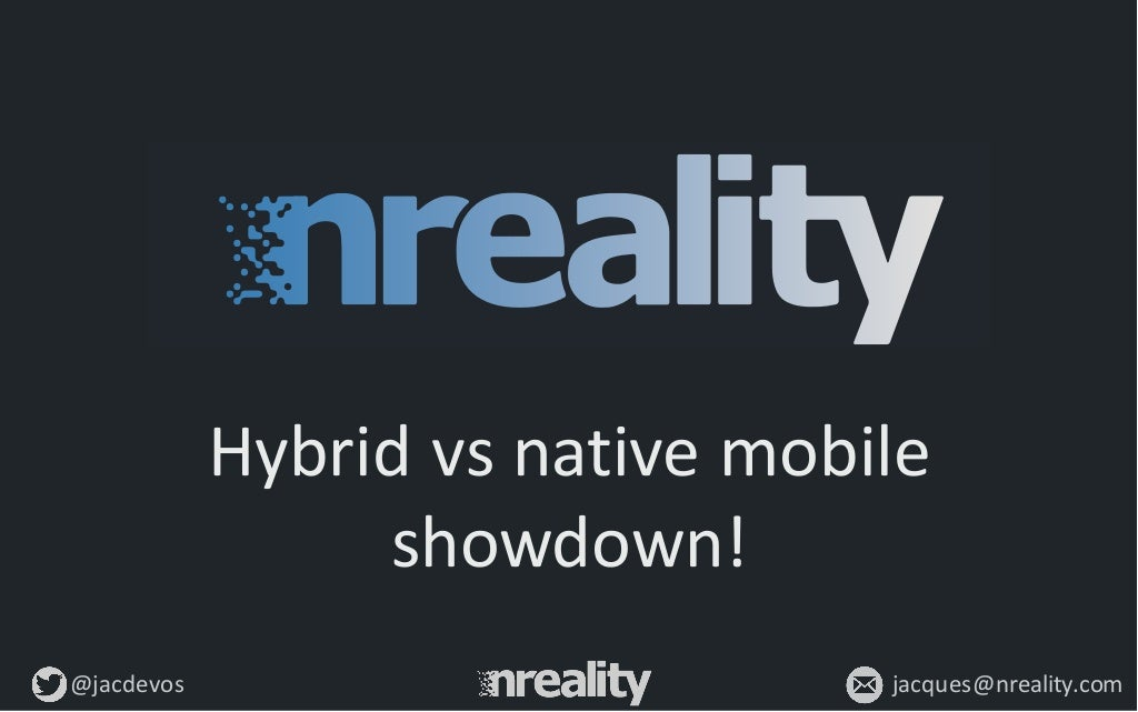 Hybrid vs native mobile development – how to choose a tech stack