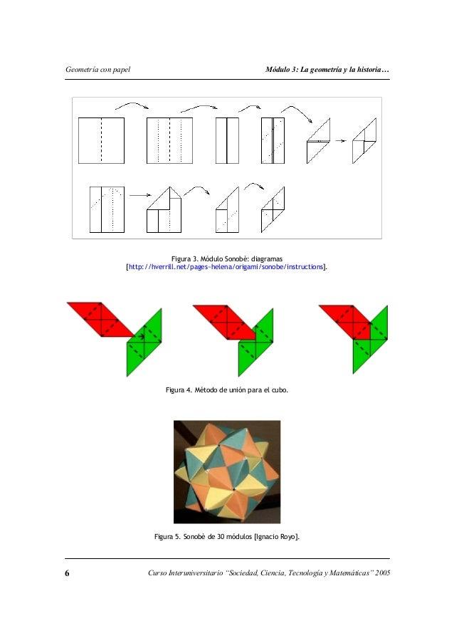 Origami en figuras geometricas for Construccion de piletas paso a paso