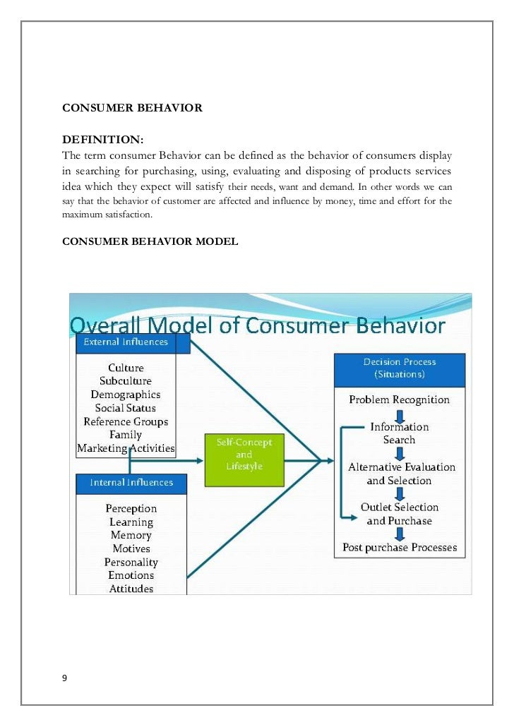 consumer behavior refers to the selection Free essay: consumer behavior consumer behavior refers to the selection, purchase and consumption of goods and services for the satisfaction of their wants.