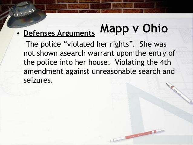 mapp v ohio essay Mapp v ohio essaysthe mapp vs ohio supreme court case was a turning point in our nation.
