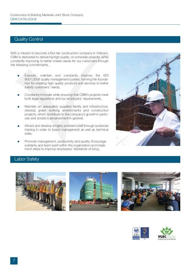 CBM CONSTRUCTION - COMPANY PROFILE