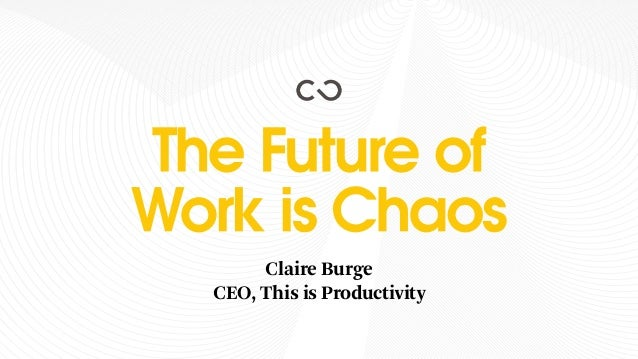 Claire Burge CEO, This is Productivity