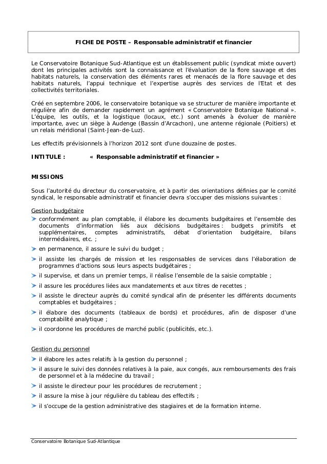 lettre de motivation responsable administration du personnel