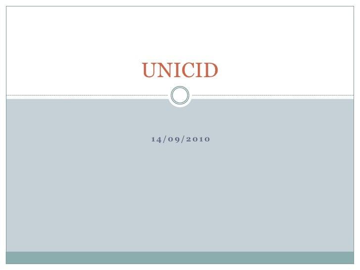14/09/2010<br />UNICID<br />