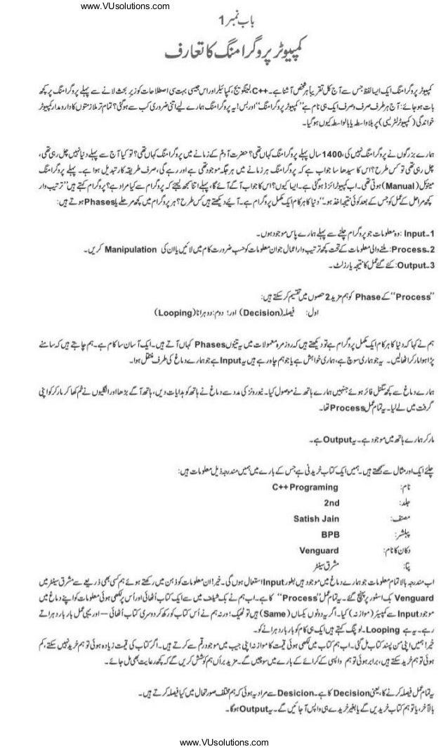pdf in urdu computer programming books