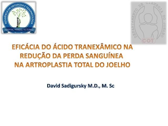 Introdução Indicação Benefícios Complicações Sangramento