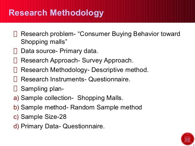 questionnaire for consumer buying behavior in mall Shopper buying behaviour and subsequently factor scores were computed named consumer behavior and the retail sales in uk and used quantitative analysis questionnaire was developed on identified attributes.