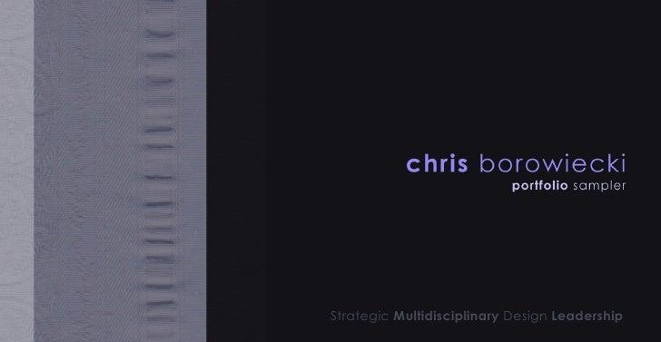 Strategic  Multidisciplinary  Design  Leadership