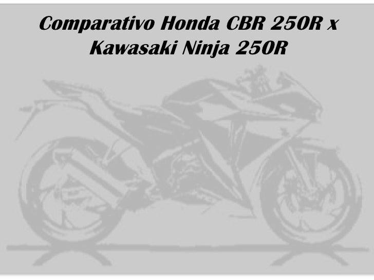 Honda CBR 250R x Kawasaki Ninja 250R