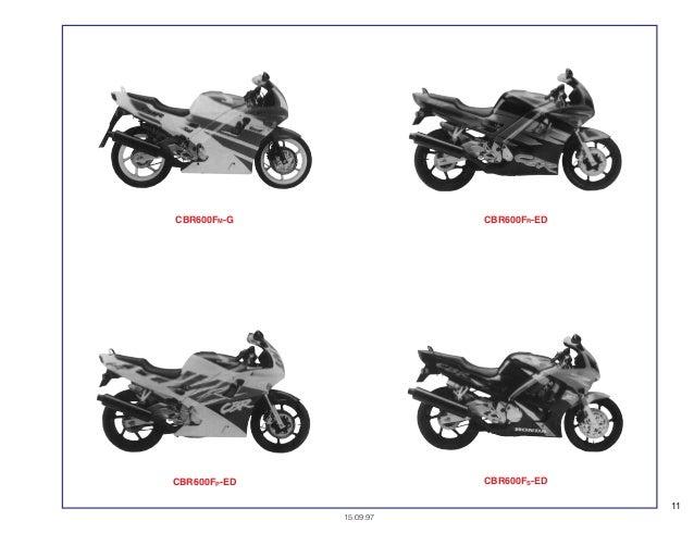 Manual Moto Cbr600 fm ft