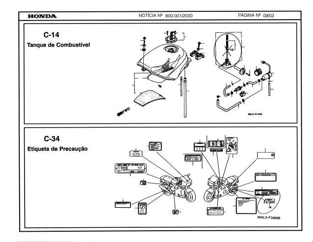 Manual Moto Cbr600 fv fw