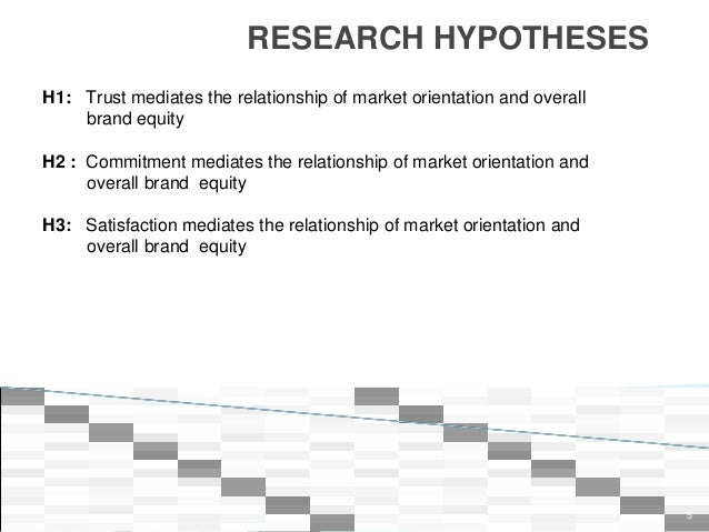 Research on the relationship among market orientation essay
