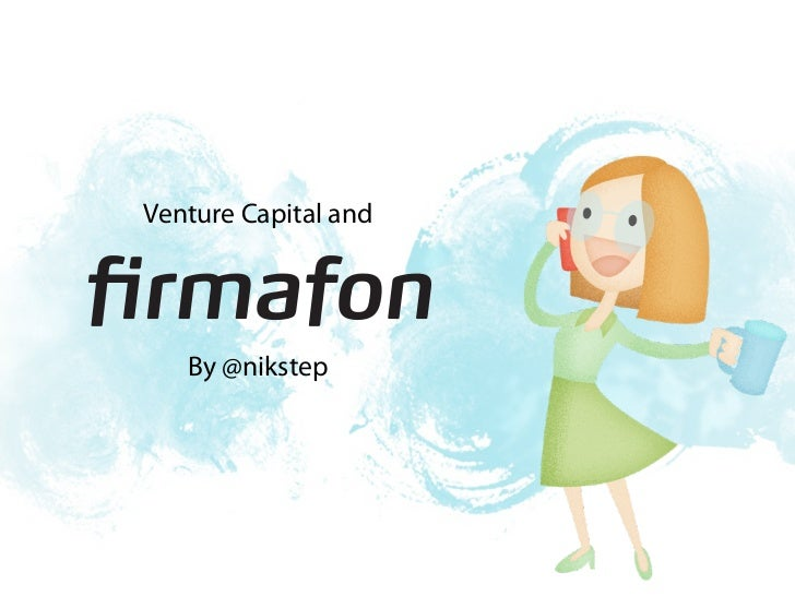 Venture Capital and   By @nikstep