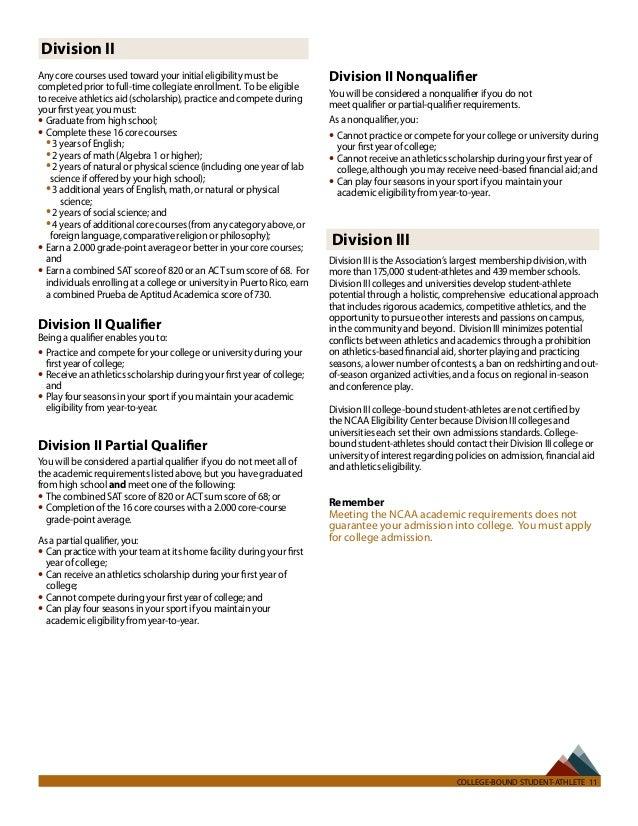 NCAA Eligibility Center – Ncaa Eligibility Worksheet