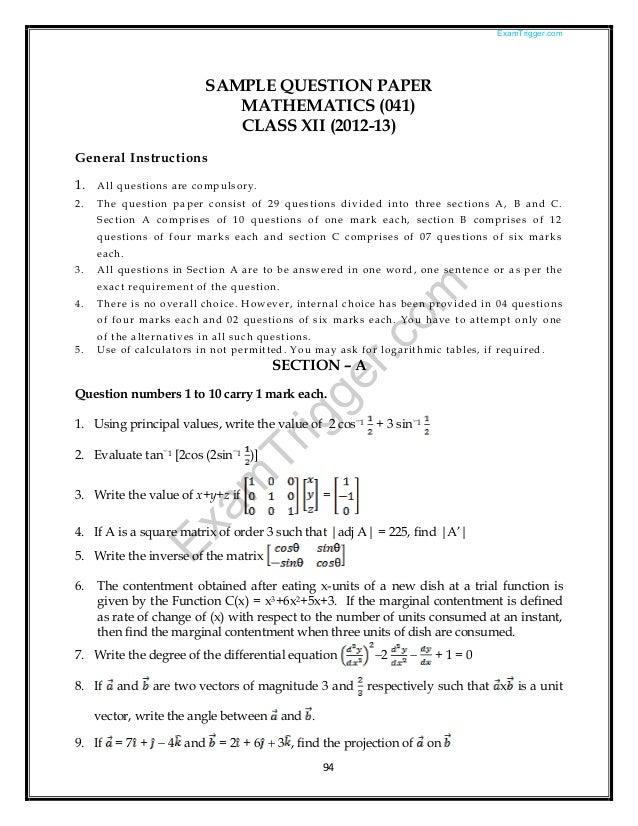 General papers model essays