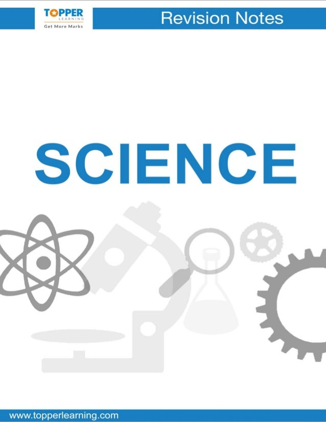 Topper notes class 10 science