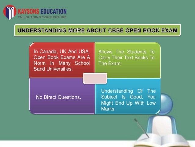 Cbse open book exam new