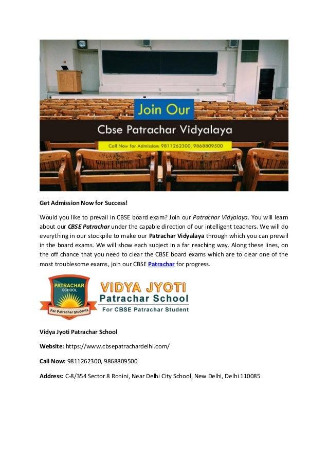 Cbse patrachar Delhi Open School Slide 2
