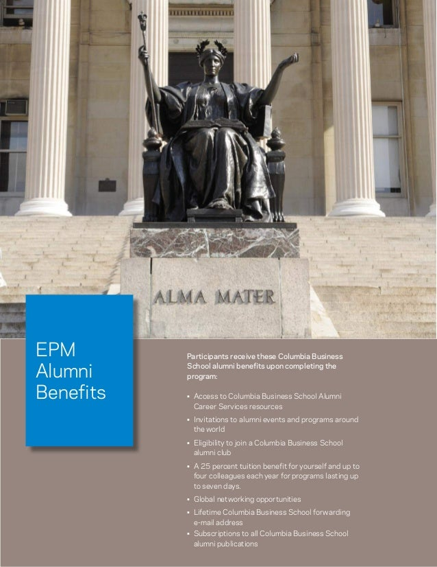 Columbia Business School Executive Program in Manangement