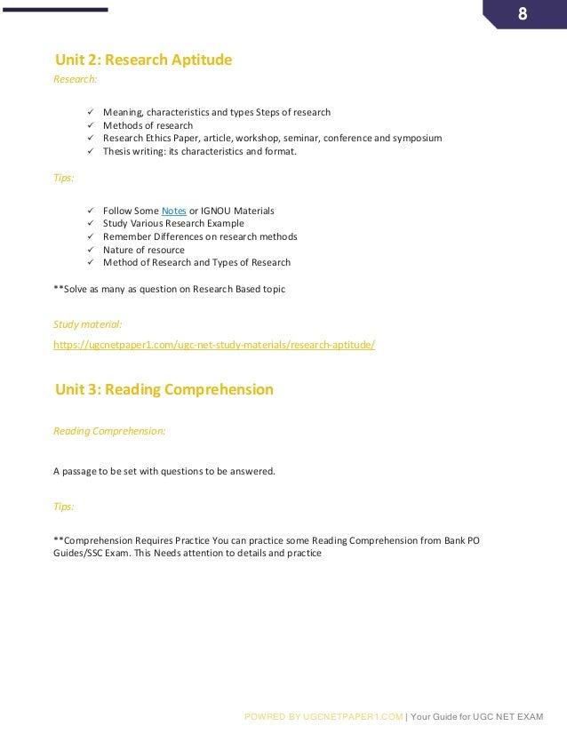 NET EXAM STUDY MATERIAL EBOOK