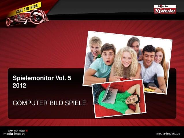 Spielemonitor Vol. 5 2012 COMPUTER BILD SPIELE