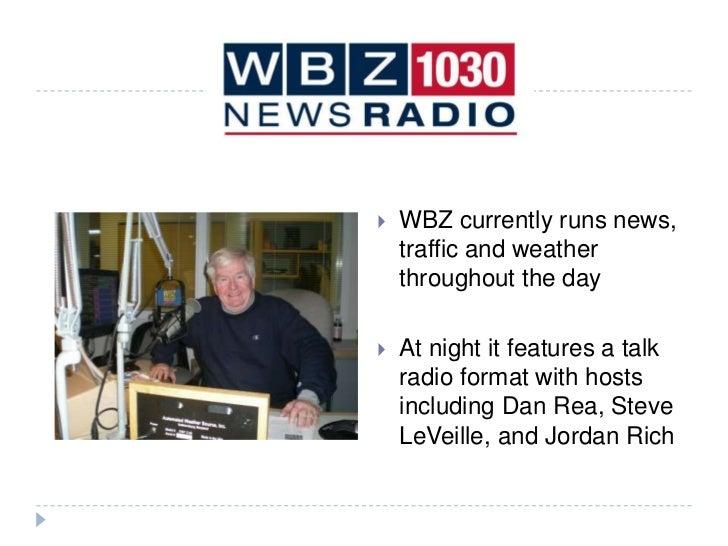 Interning at CBS Boston - WBZ NewsRadio 1030
