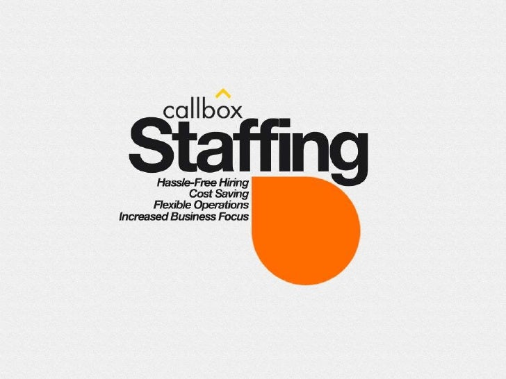 Solid Experience• Innovative provider of outsourced support services• Over 7 years of experience in workforce outsourcing•...