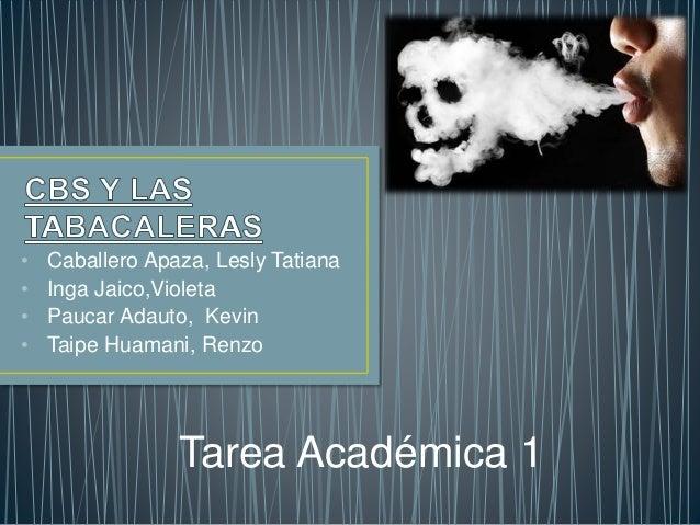 • Caballero Apaza, Lesly Tatiana  • Inga Jaico,Violeta  • Paucar Adauto, Kevin  • Taipe Huamani, Renzo  Tarea Académica 1