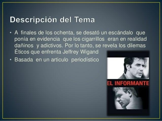 Cbs y las tabacaleras Slide 2