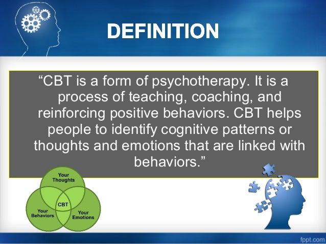 Cognitive Behavioral Therapy (CBT) Slide 2